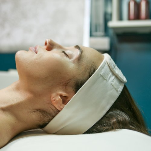OPEN SKY CUSTOM SIGNATURE FACIALS   Addresses skin concerns like acne, aging, and brightening, our custom facials are the ultimate in relaxation. Includes deep pore cleansing, exfoliation, and customized serum and mask treatments as well as a rejuvenating neck and face massage.  45-minute session: $55  60-minute session: $70