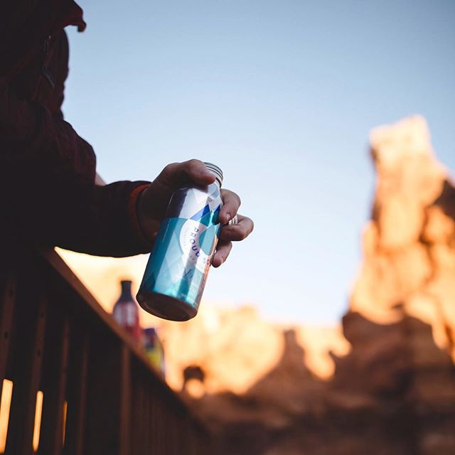 Our cells need water to survive. Our spirits need it to thrive. #proudsourcewater #planetorplastic #bottledwaterdoneright #liveproud #adventure #saynottoplastic #gogreen #naturallyalkaline #8.1pH #idaho #naturalspring