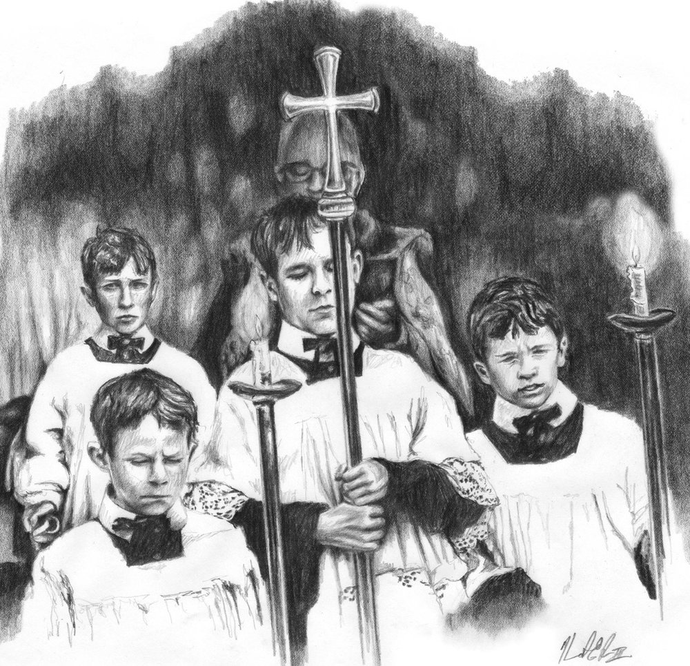 Altar boys graphite study