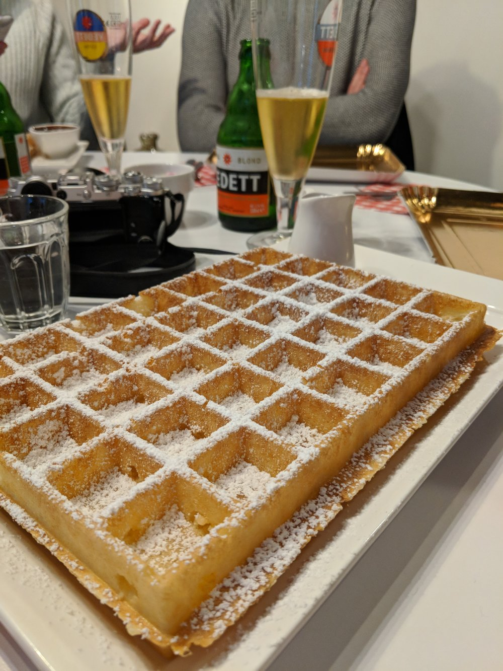 Lizzie's Waffles - Whatever you do make sure you add a trip to lizzies waffles to your todo list for Bruges. One between two is plenty they are HUGE trust me. By far the best waffles i've ever eaten.