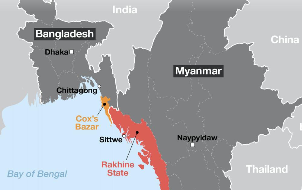 Map:  Aljazeera