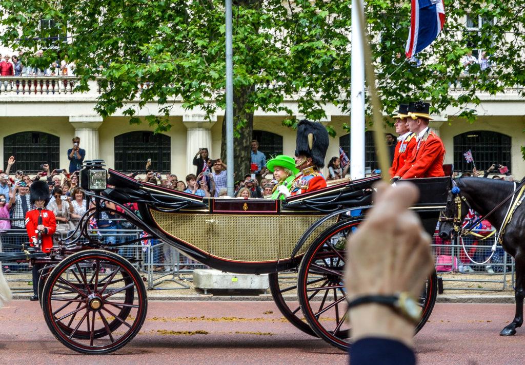 The Queen - Visit London