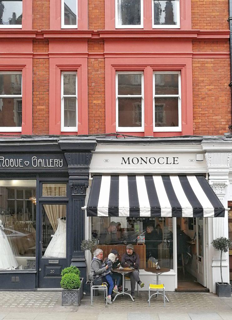 Monocle Cafe, London cafe, Visit London, London itinerary