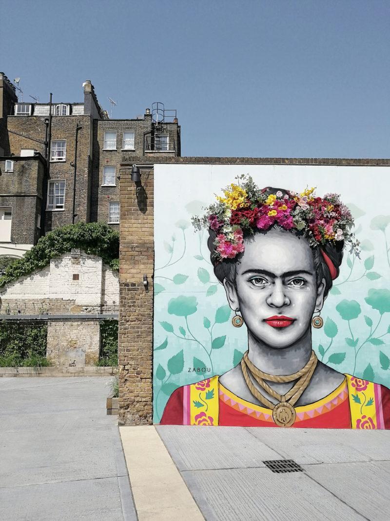 Frida's Belgravia, Frida Kahlo mural London