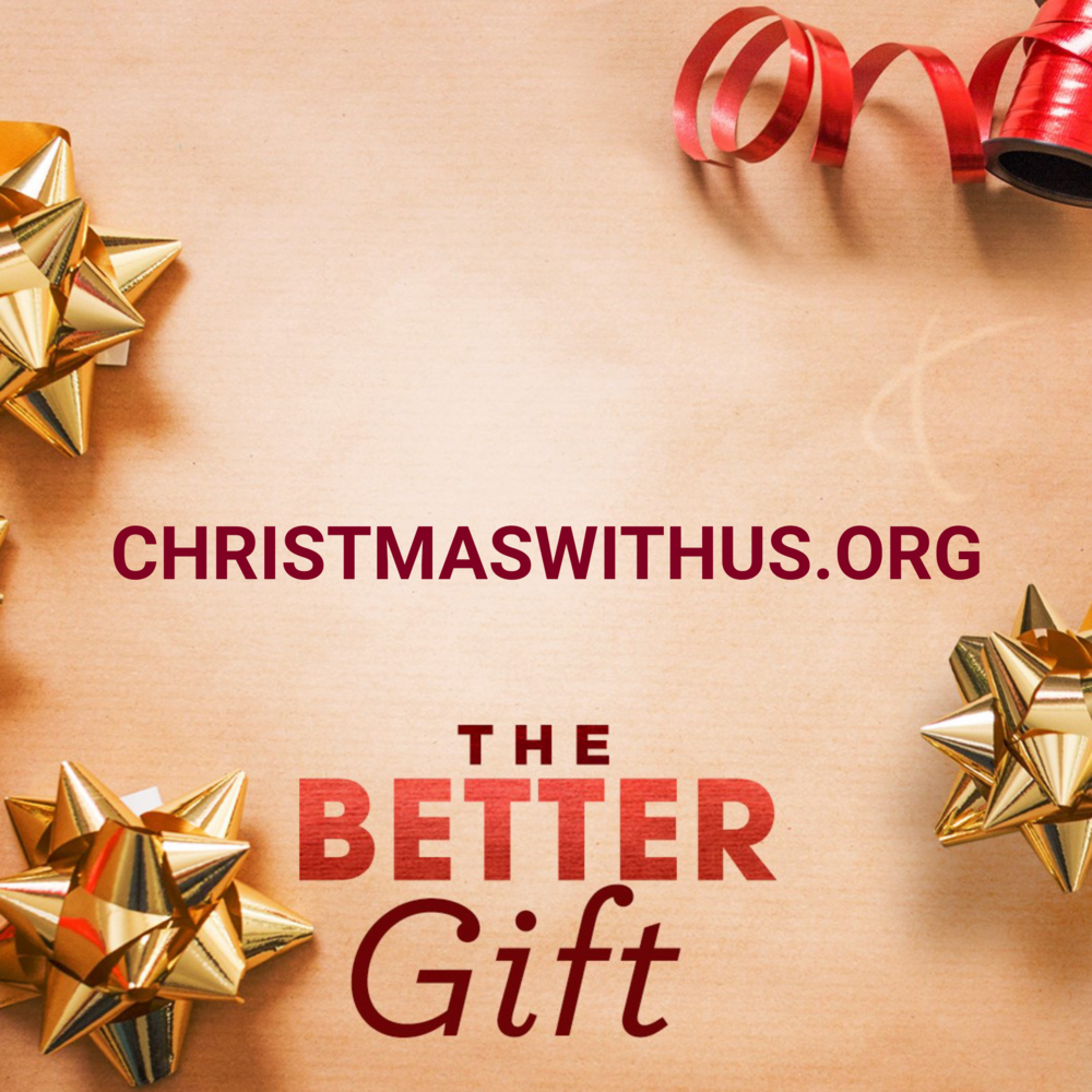 You're invited to share in the joy of Christmas at Littleton Church of Christ.  christmaswithus.org  #thebettergift #ChristmasWithUs