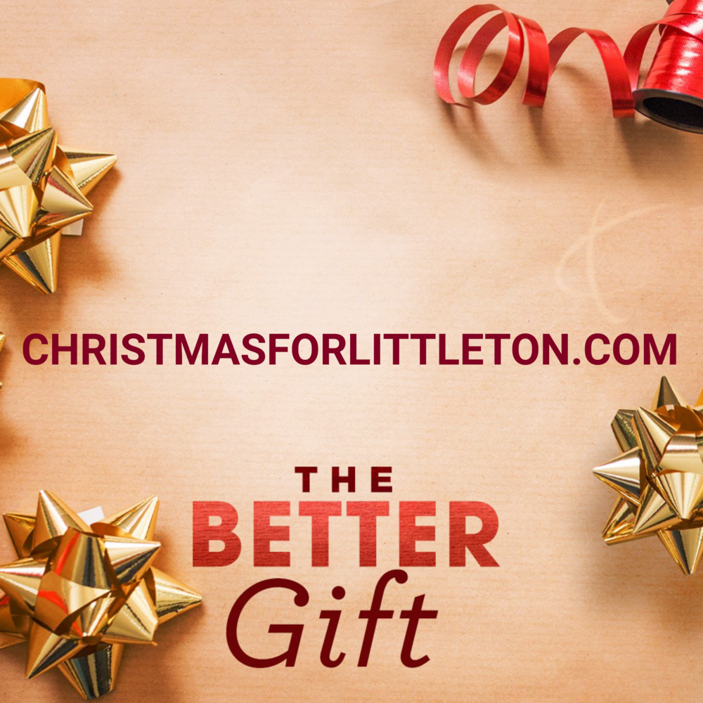 You're welcome at Littleton Church of Christ.  christmasforlittleton.org  #thebettergift #ChristmasWithUs