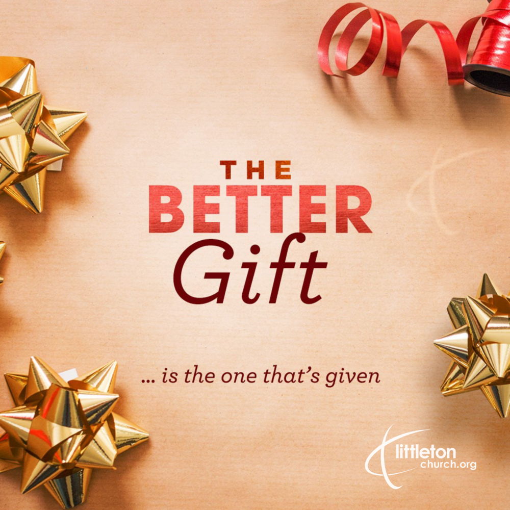The better gift is the one that's given. You're invited to our Christmas teaching series, Dec 2, 9, 16, 23, & 24.  christmaswithus.org  #thebettergift #ChristmasWithUsLC