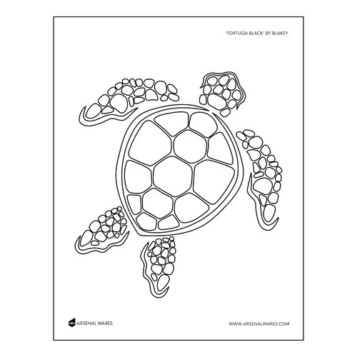 Tortuga Black | Coloring Page | 8.5"|500|500|?|en|2|b0d0cf1b16015a52387e6ce658d9f816|False|UNLIKELY|0.3519061207771301