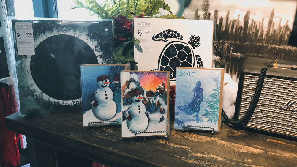 New Holiday Inspired Cards Made Specially for 'Mackenzie & West' In Colorado Springs, CO (Blake Shattuck, Savage Queen LLC)