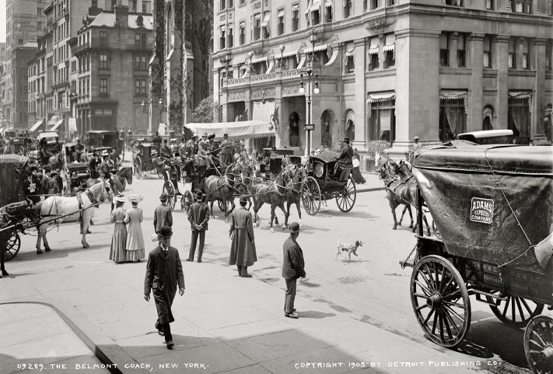 Fifth Avenue, 1905