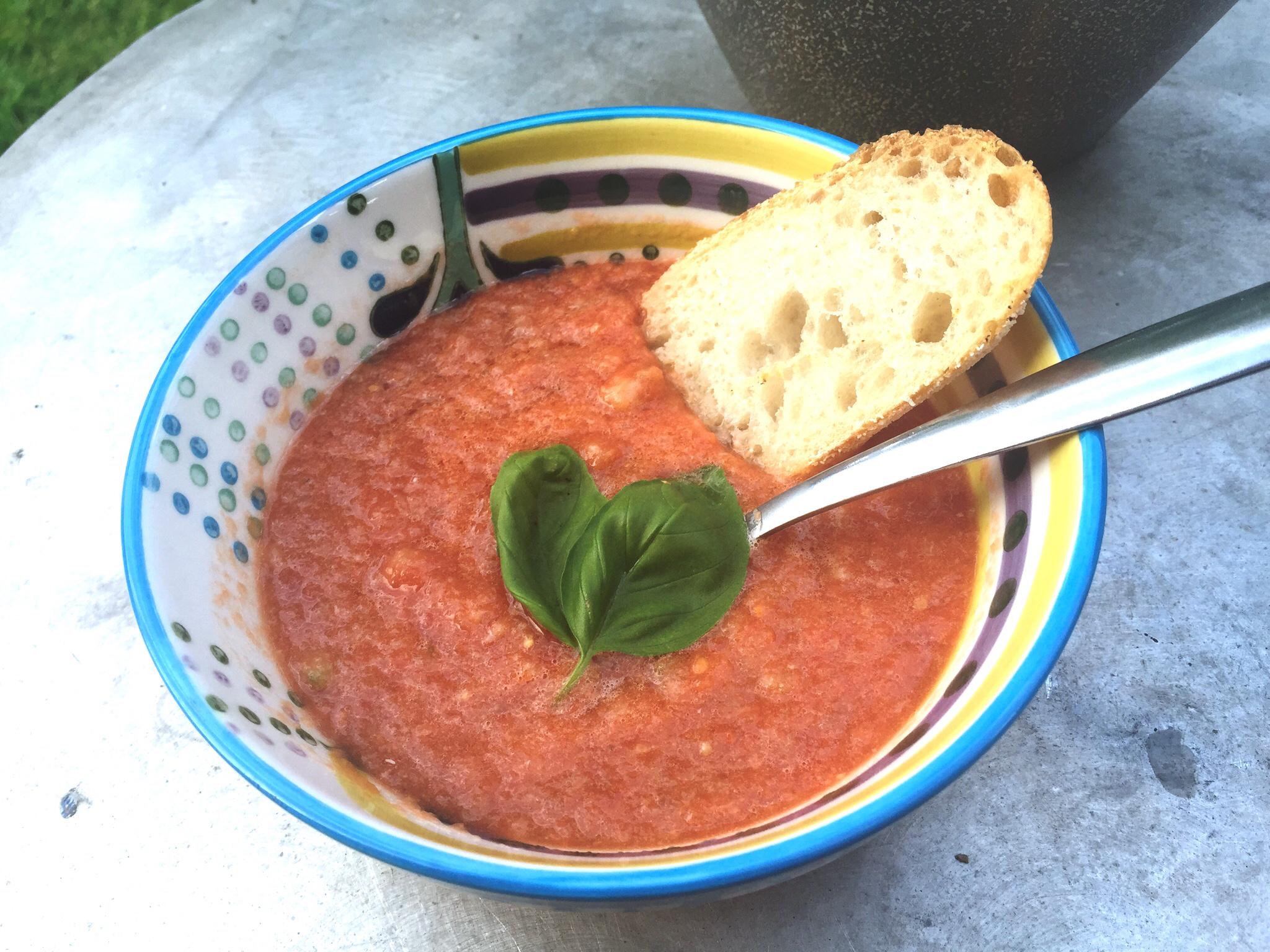 Rustic Gazpacho Recipe