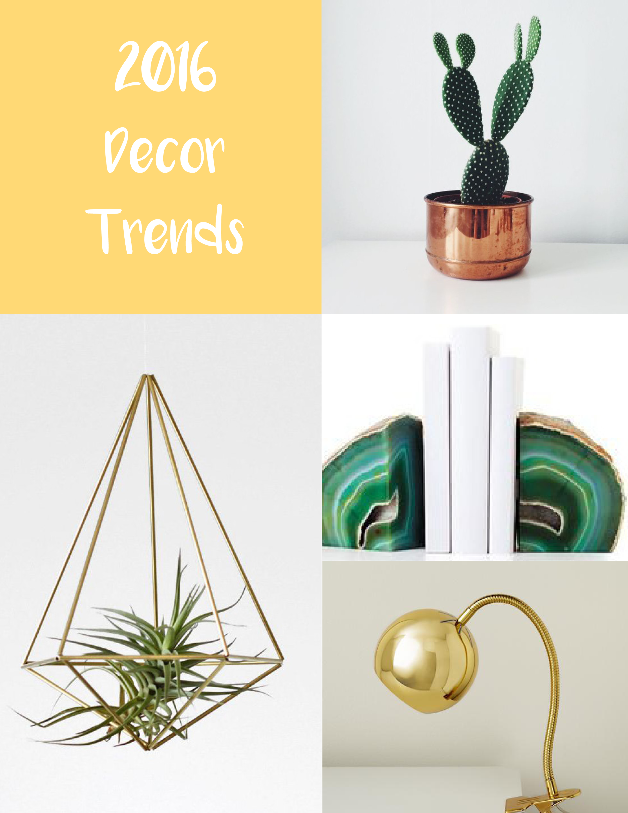 2016 Design Trends - Get a head start by knowing now what's hot next year!