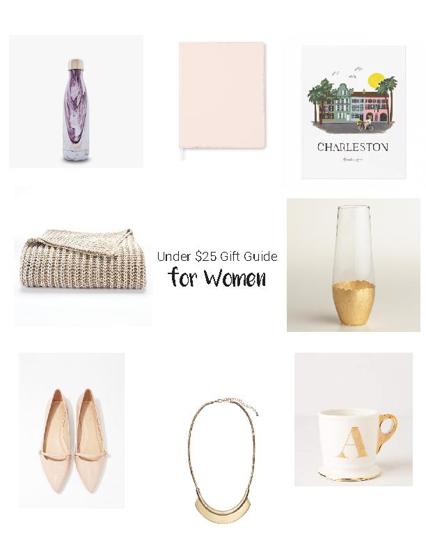 Under $25 Gift Guide for Women