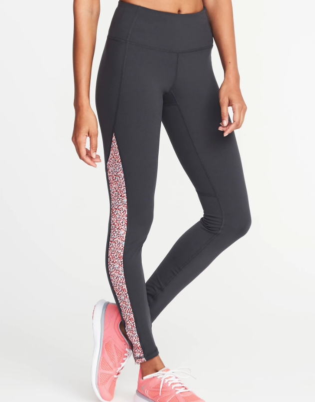 Mid Rise Compression Leggings - Purchase Here