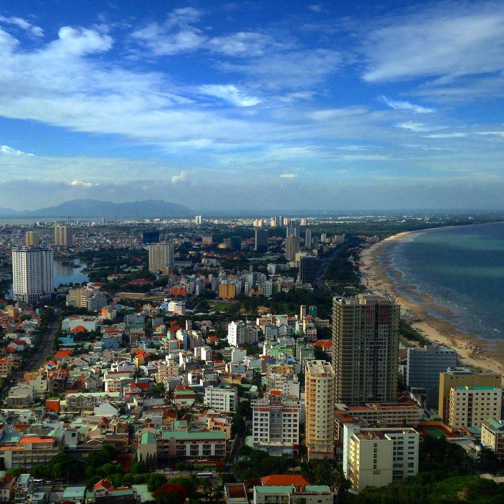 The city of Vung Tau!