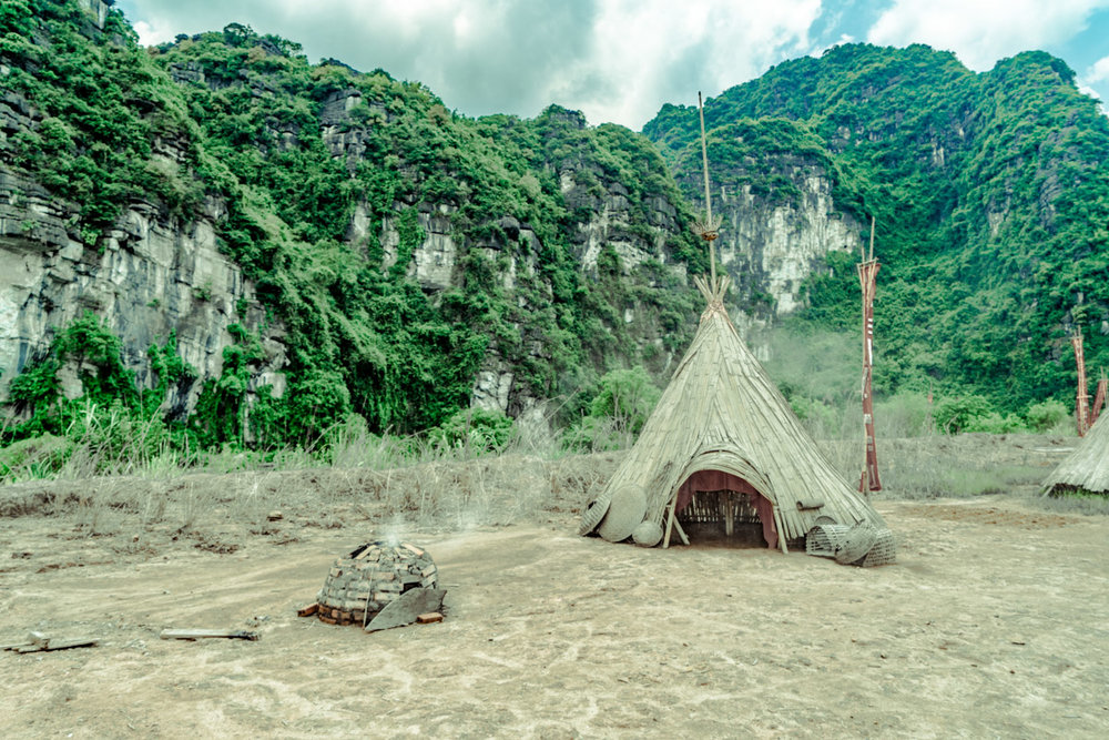 King Kong Island in Ninh Binh. This is where they filmed the most recent King Kong Movie.