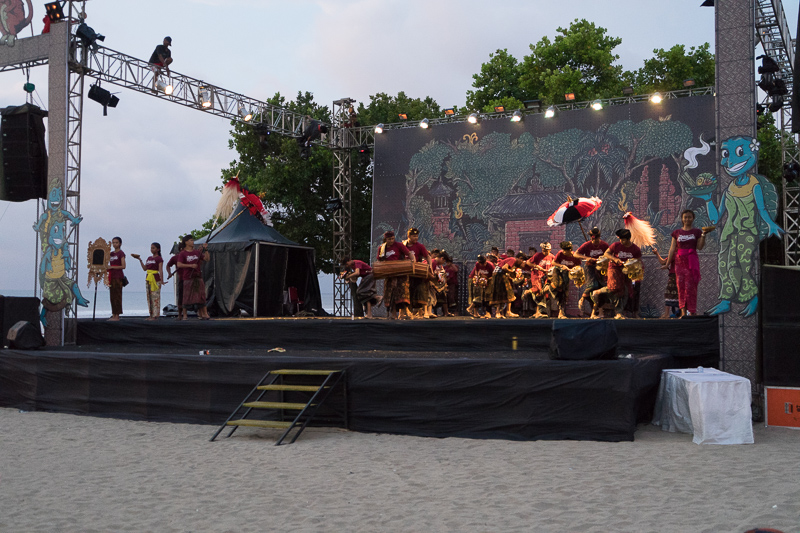 Indonesian Style Music and Dancing