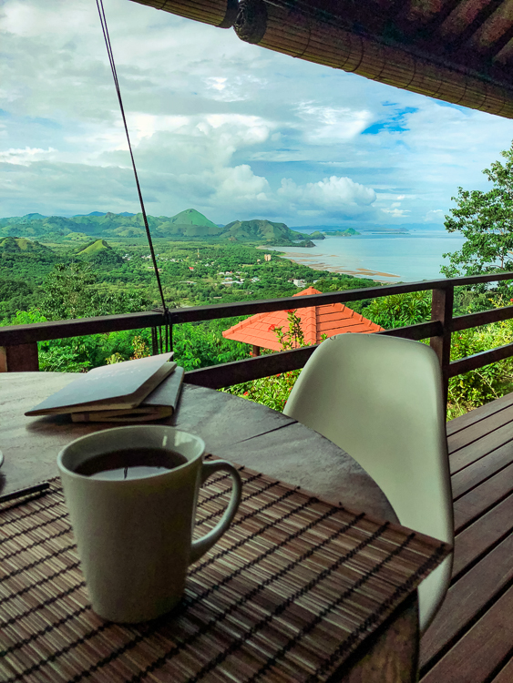 Villa Domanik Breakfast View