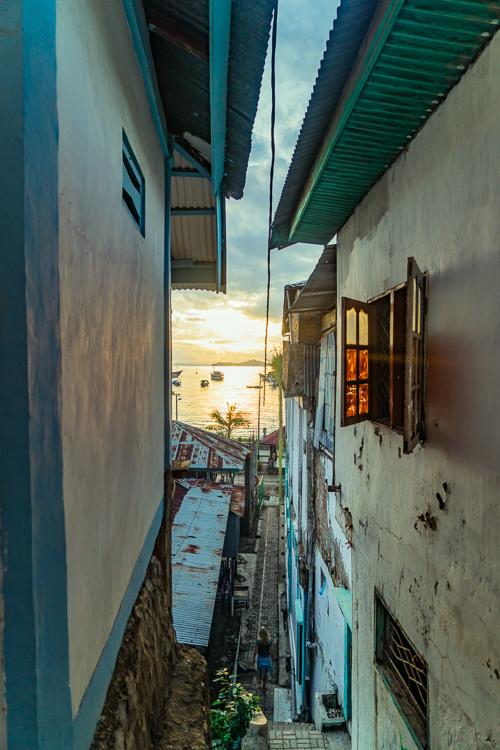 Labuan Bajo Downtown View