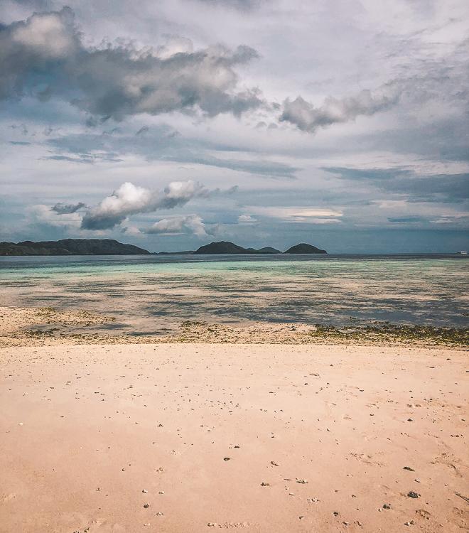 Pink Sand Beach Sandbar