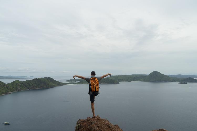 Karate Kid Style at Padar Island