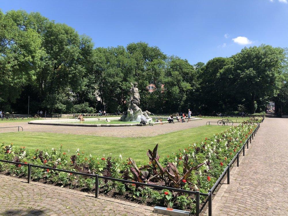 Garden/Park in Munich