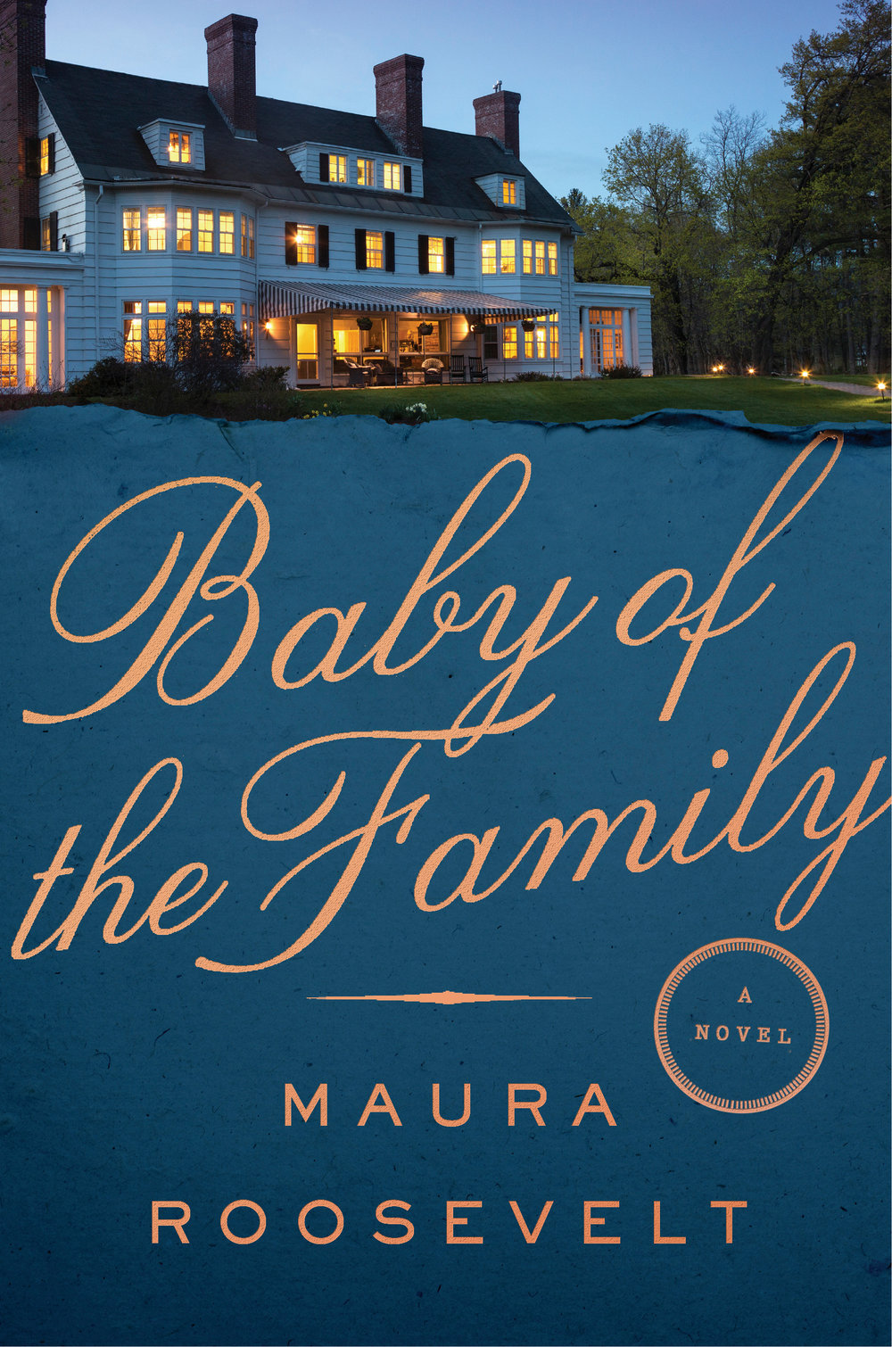 "BABY OF THE FAMILY - Advance Praise:""Roosevelt's debut reveals a sure hand, an eye for detail, and a keen sense of the absurd, and her affection for Brooke, Shelley, and Nick shines through as they fumble their way toward wisdom."" —Booklist (starred review)""Baby of the Family is a masterpiece, and gripping, and Maura Roosevelt is the realest of deals. You'll love how big it is, and how thrilling."" —Darin Strauss, NBCC-winning author of Half a Life""I can't believe Maura Roosevelt's big-hearted, deliciously readable novel Baby of the Family is a debut. This is a wise and soaring book about family secrets and the price of privilege, by a writer with profound insight, immense talent, and a brilliant future."" —Julie Buntin, author of Marlena""A poetic and clever saga about a modern day American dynasty, full of intrigue and drama without ever losing its heart. This book is for anyone who loves to read about complicated families – or has one of their own.""—Kathy Wang, author of Family Trust""Baby of the Family is one of the most absorbing and stirring novels I've read in years. In this nuanced and deeply moving story, Maura Roosevelt uses her considerable gifts as a writer to explore the complexities of privilege, family, and the American Dream. It's a beautiful book full of surprises, insight, and real heart."" —Bret Anthony Johnston"