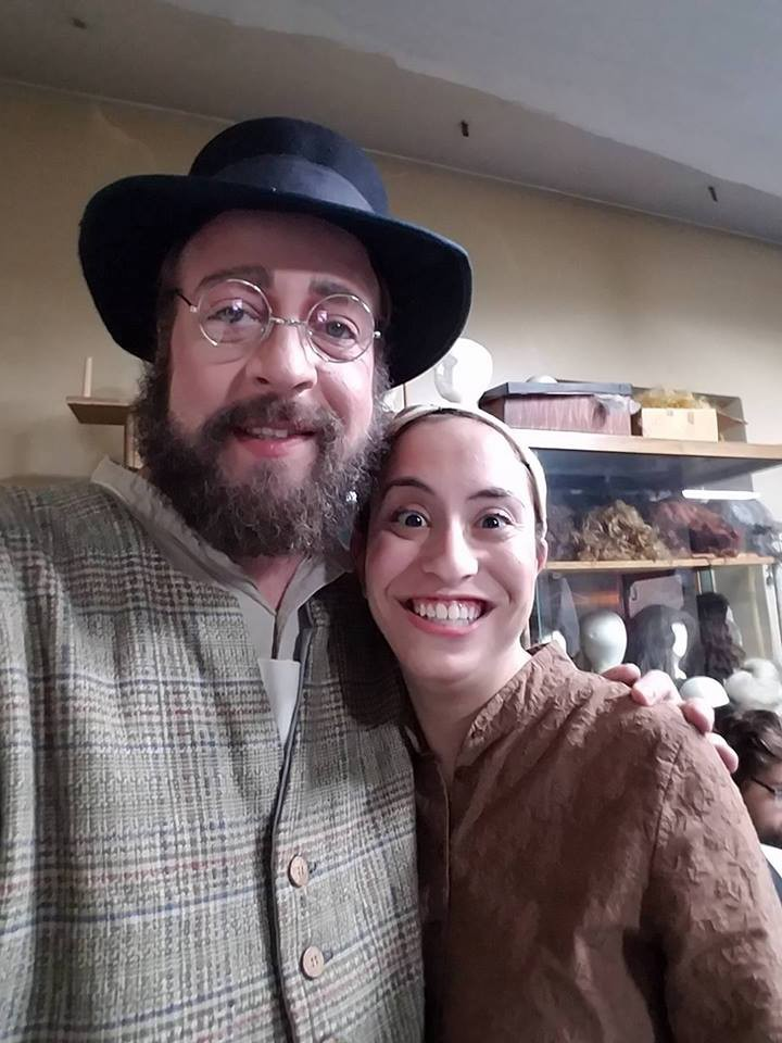 Richard and I,  Fiddler on the Roof, taken October 2016.