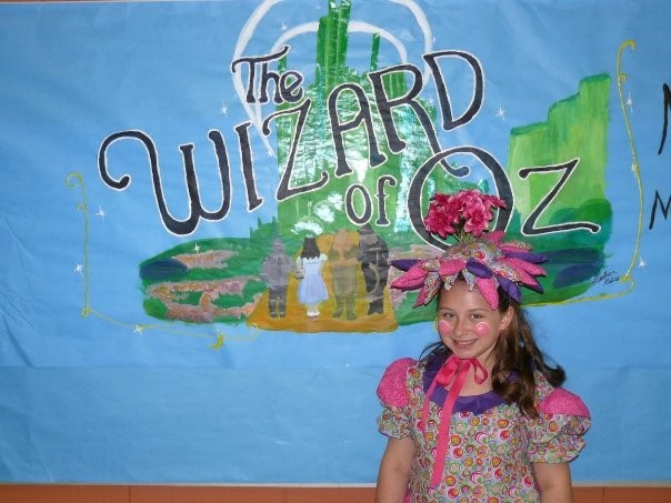 A photo from the second time I was in the Wizard of OZ (2009)