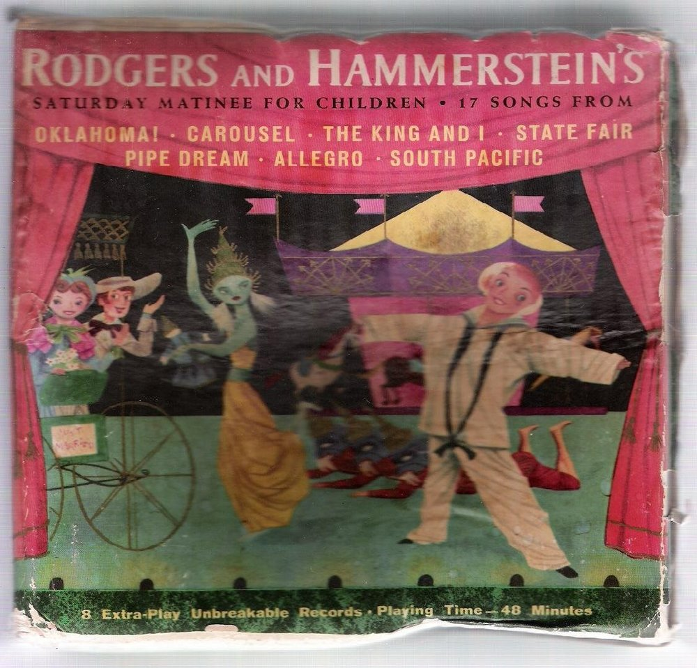 Caption: The gateway drug, Rodgers and Hammerstein for Children.
