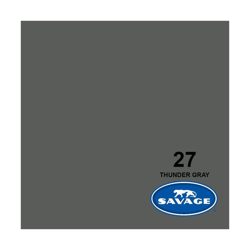 9'w grey seamless