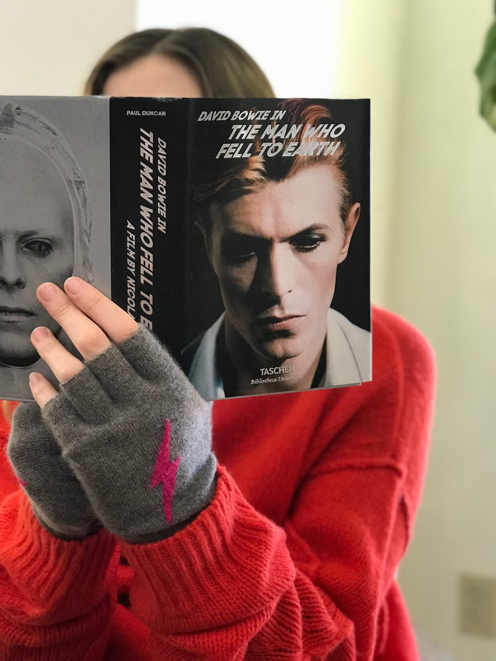 David Bowie The Man Who Fell-$20 Cashmere Gloves starting at $125