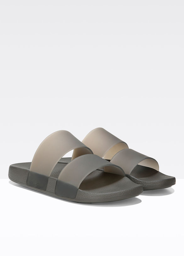 Wynne Rubber Slide in Pewter - 25% off