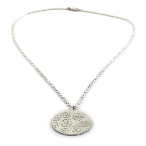 Sterling Geisha Necklace -$305