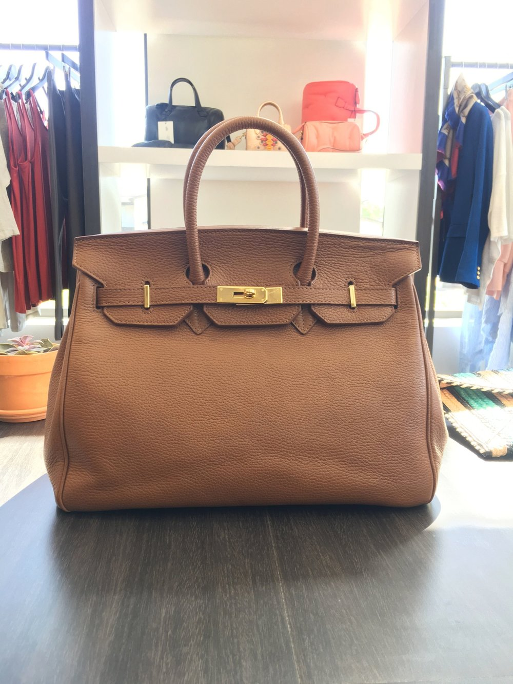 Caty 35cm in Brown -$690