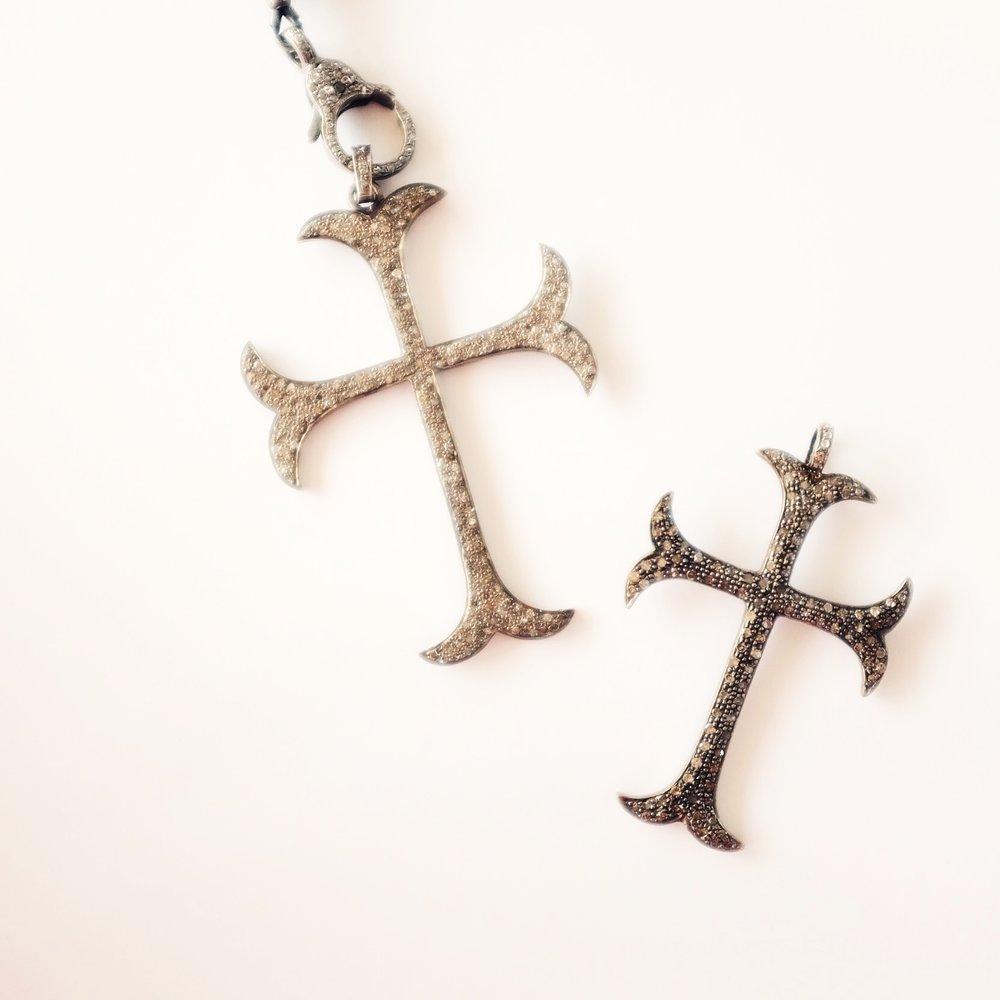 Large Diamond Cross-$1,160