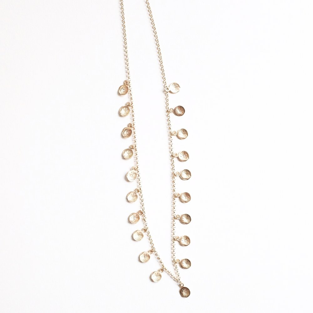 10k Diamond Astrid Charm Necklace -$1,390