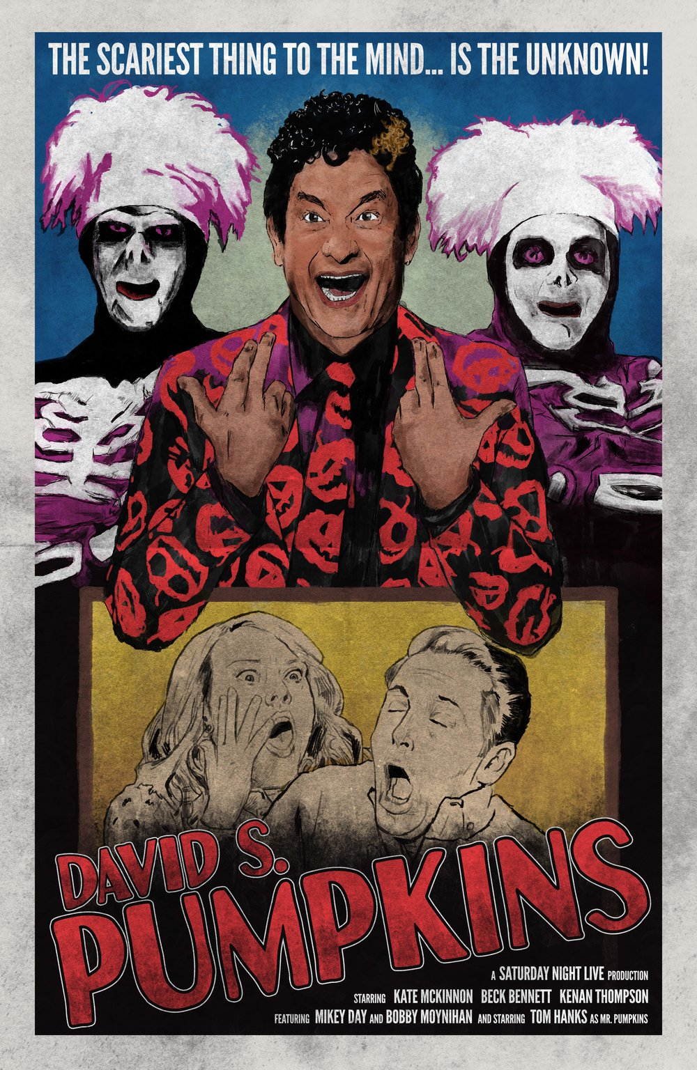 David S. Pumpkins Vintage Movie Poster