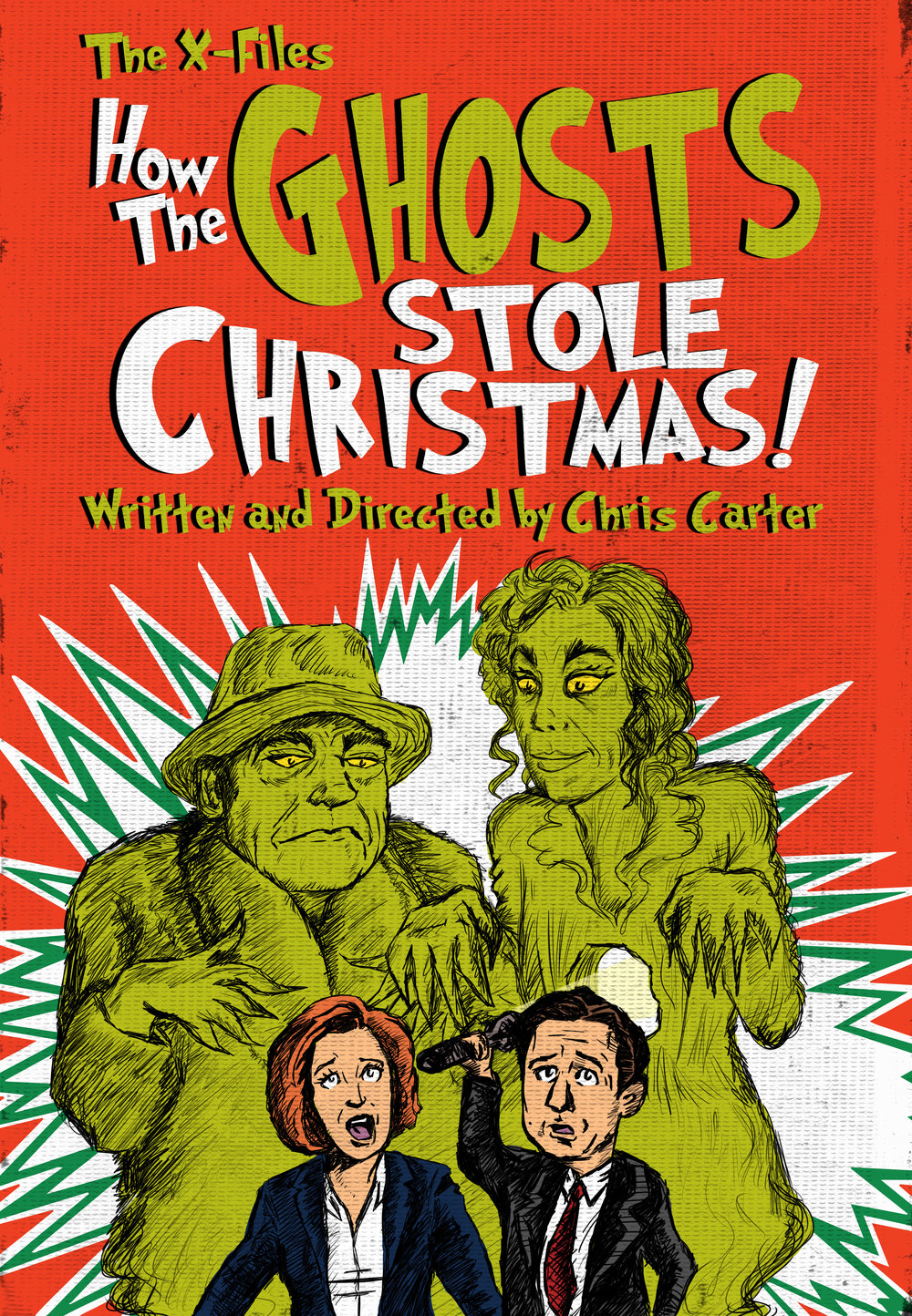 How the Ghosts Stole Christmas