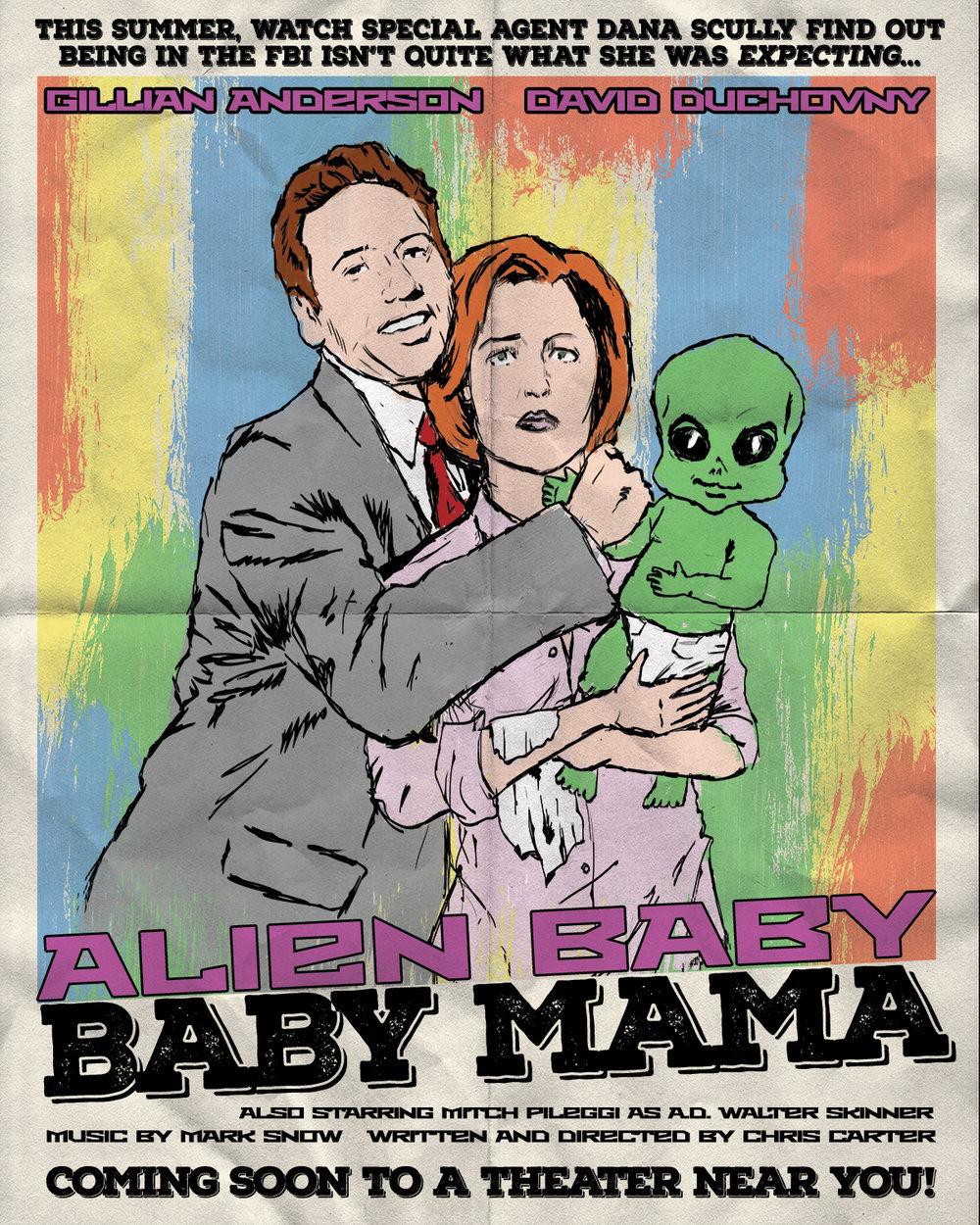 Alien Baby Baby Mama