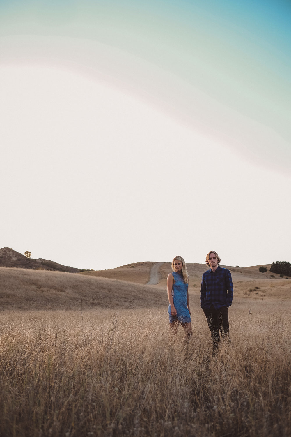 Kelli and Jeff were never photographed professionally before their engagement session.
