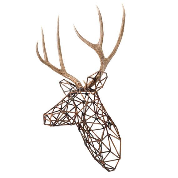 Ferrous Wheel Design, Faceted Deer