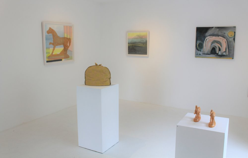 Installation shot, white room