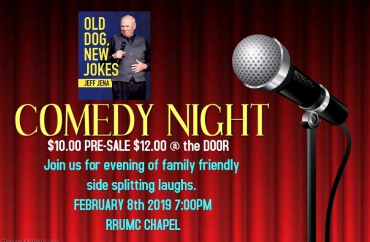 Comedy night with Jeff Jena