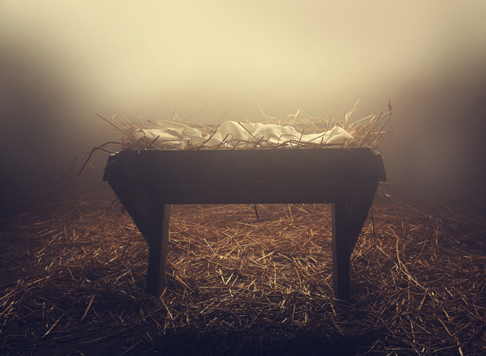Who are you looking for as you find yourself at the manger? -