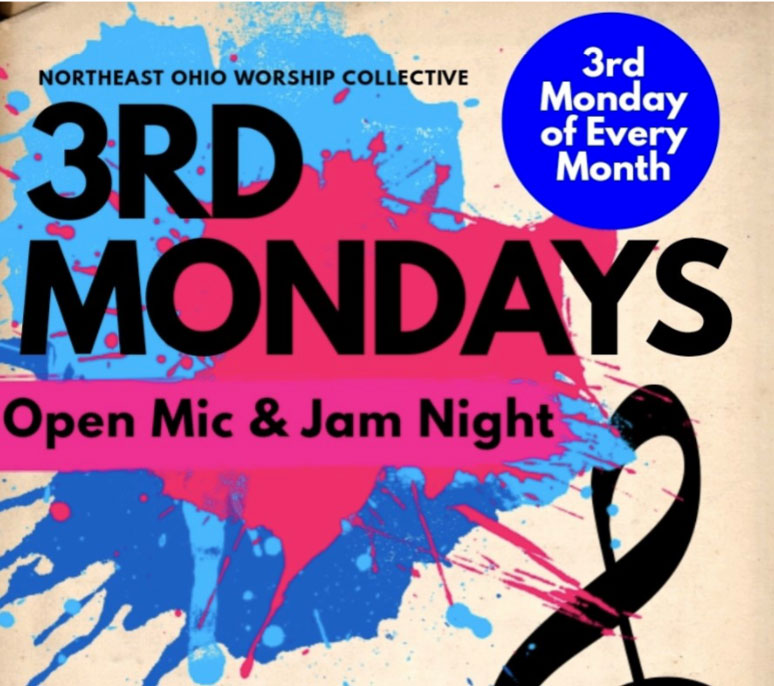 open mic jam music rocky river