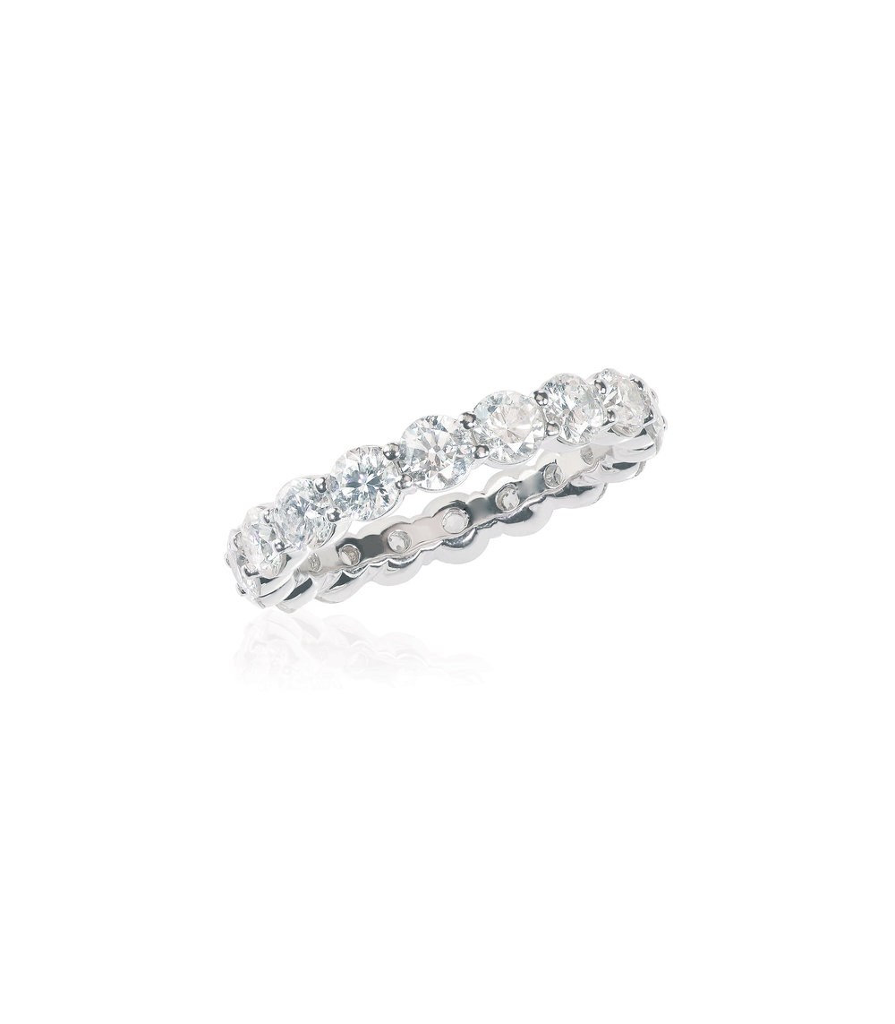Shared Claw Eternity Band