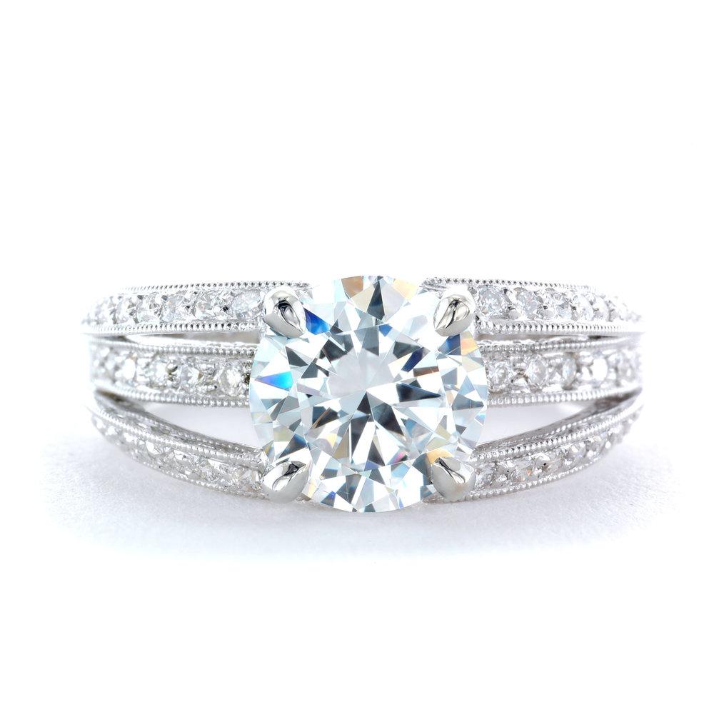 Antique - Diamond - Ring