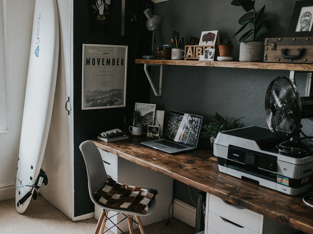 Bristol Workspace of Designer and Photographer, Claire Latchem / Superfex