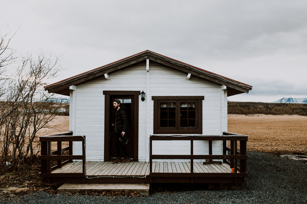 Heidi Cabin, Tjarnarvegur - £98.25 per night
